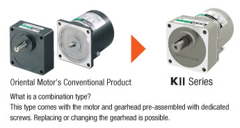 Combination Type Gear Motor