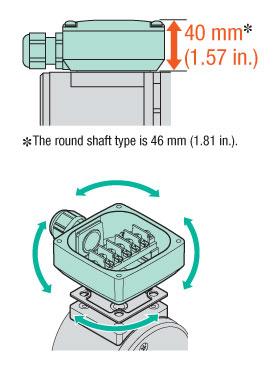 Terminal Box Type AC motor