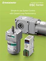 DSC series speed control AC motors brochure