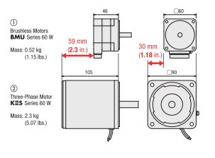 Compact Brushless DC Motors