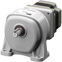 Foot Mount Gear Motor