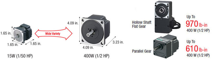 Wide Variety of Brushless DC Motors