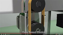Video - Brushless DC Motor Conveyor