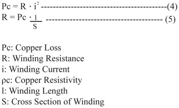 Copper Loss Formula