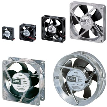 Compact DC Axial Fans - MD/MDS Series