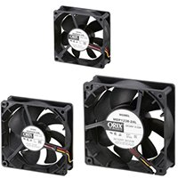 IP68 Splash Proof DC Fans