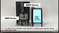 Video - Linear Actuator Push Motion Demo