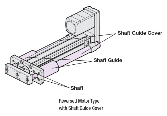 Shaft Guide with Cover