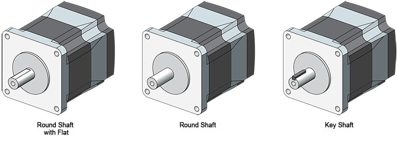 Standard Type Stepper Motors