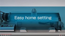 Video - AZ Series Easy Home Setting
