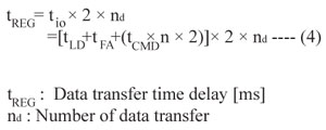 Data Ttransfer Time Delay Formula