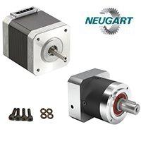 Geared stepper motors