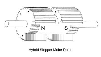 Hybrid Stepper Motor Rotor