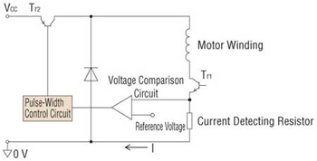 Stepper Motor Constant Circuitry Voltage
