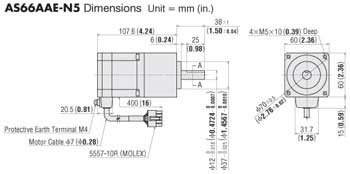 Stepper Motor Geared Example
