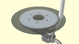 DGII Series Rotary Actuator application: Low vibration even at low speed