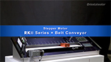 Belt Conveyor Utilizing RKII Series Stepper Motor