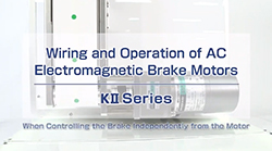 how-to: wiring and operation of kii series electromagnetic brake motor part  2