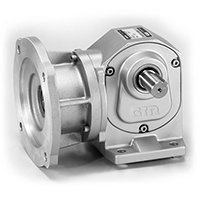 Right-Angle Solid Shaft Gear Motor