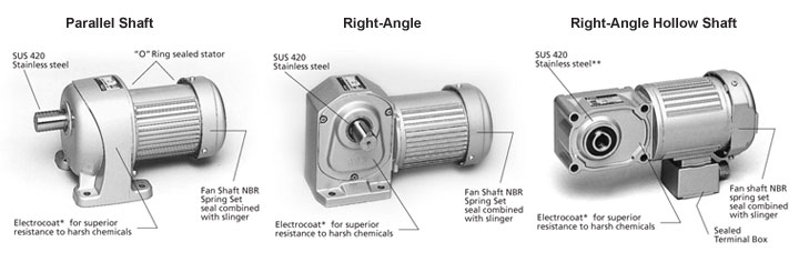 High Torque Three Phase Ac Gear Motors Brother Gearmotors
