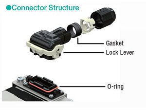 brushless motor connector