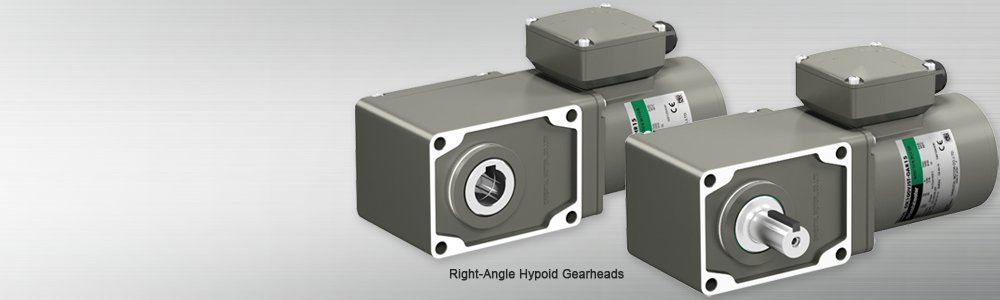 Hypoid Gear Three-Phase AC Motors