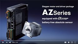 Video - AZ Series Stepper Motors