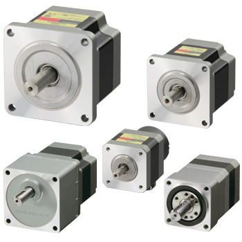 RKII Series 5-Phase Stepper Motors