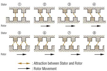 Stepper Motor Stator Roto Attraction